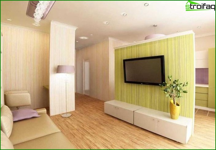 Studio apartment interior 8