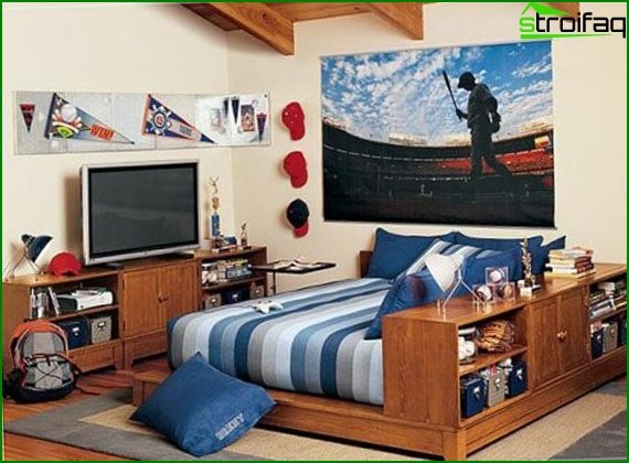 Teenager's room for young men 2