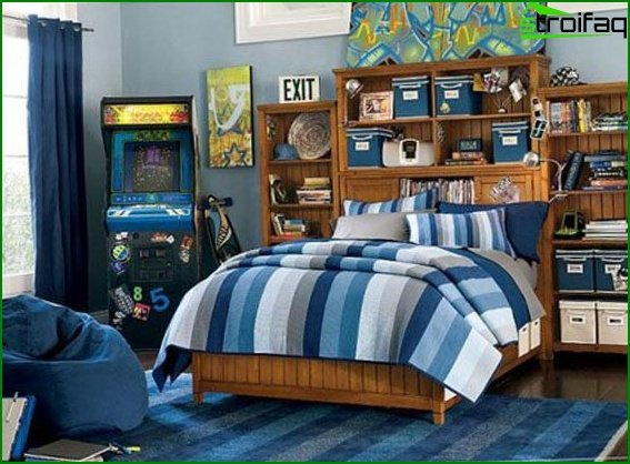 Teenager's room for young men 4