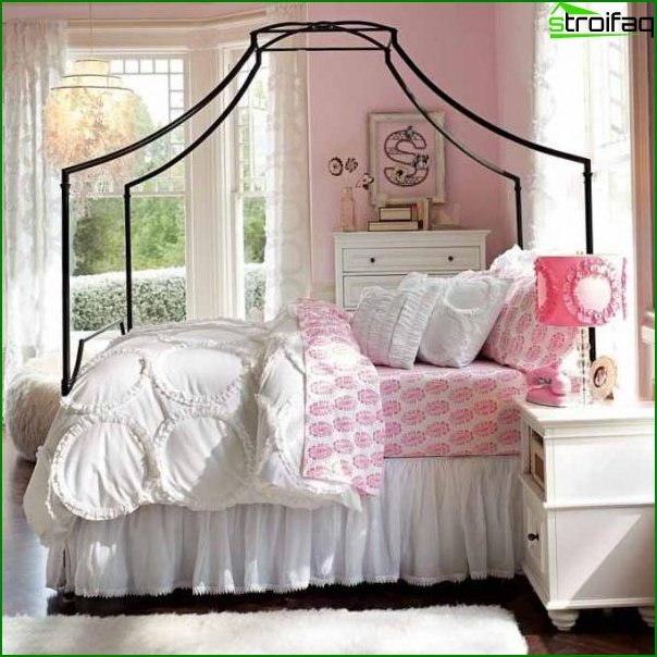 A room for a teenage girl