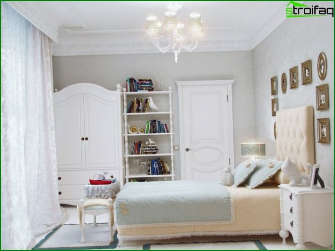 Bedroom for a teenage girl
