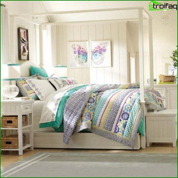 Room design for girls