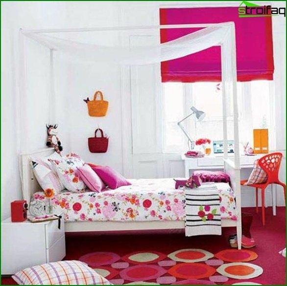 Interior of a children's bedroom