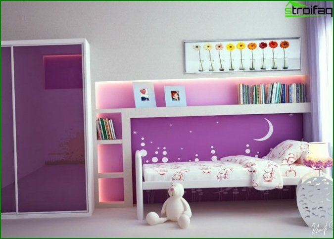 Lilac wardrobe