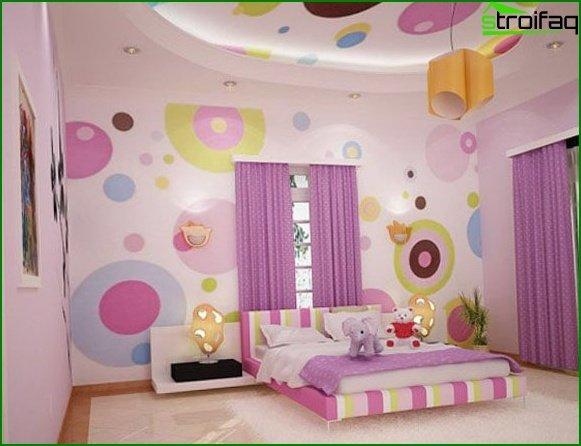 Lilac curtains - photo