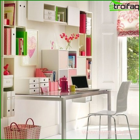 Work area for a teenager - photo