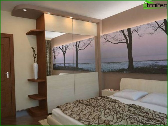 Bedroom 12 meters design photo