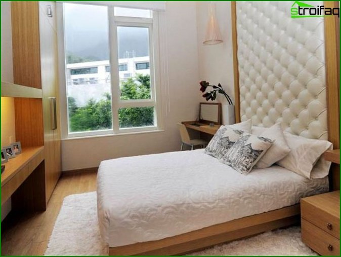 Photo of a bedroom in a panel apartment house