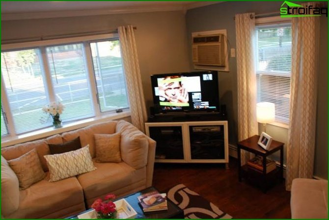 Bedroom-living room: secrets of decoration - photo 2
