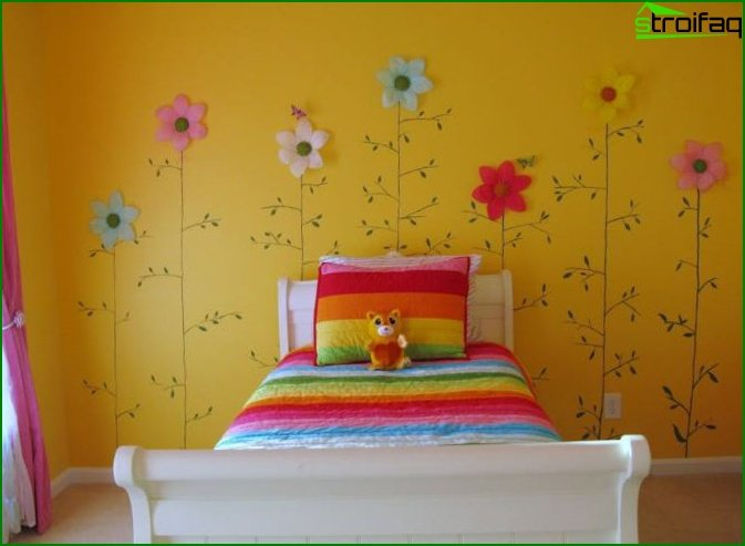 The subtleties of creating a children's room for sleep - photo 2