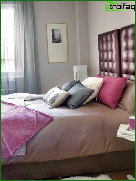 Features of bedroom design for a young couple