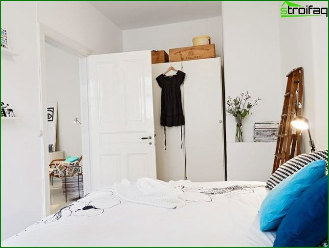 Bedroom for a young couple