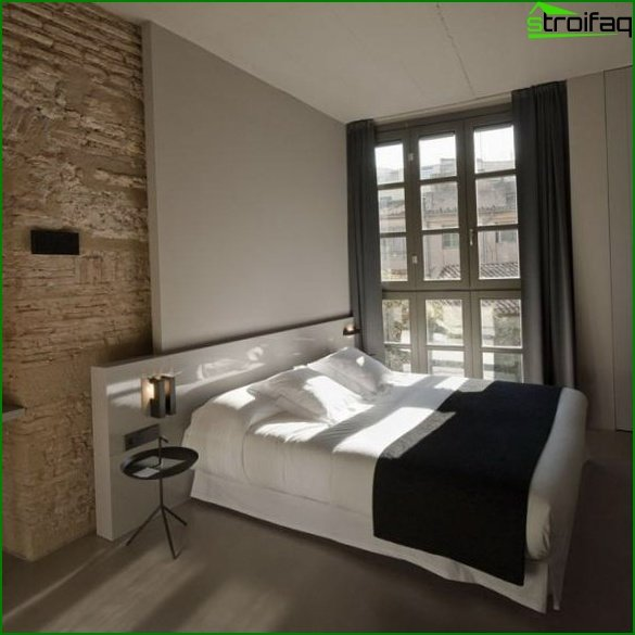 A bedroom for a young couple - 1