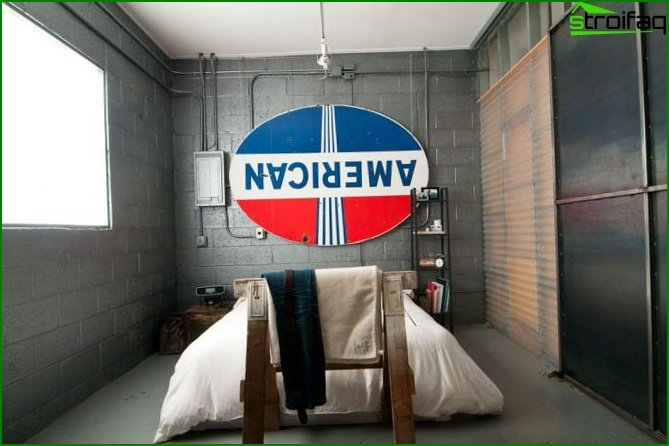 Industrial style rooms - 2