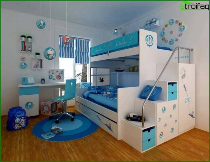 Design room for two boys