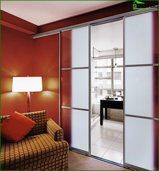 Sliding doors (photo) - 3