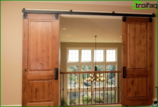 Sliding doors (wooden) - 2