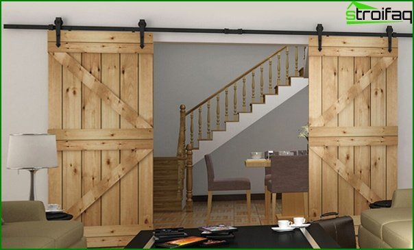 Sliding doors (wooden) - 3