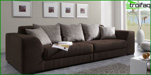 Upholstered furniture (classic sofa) - 1