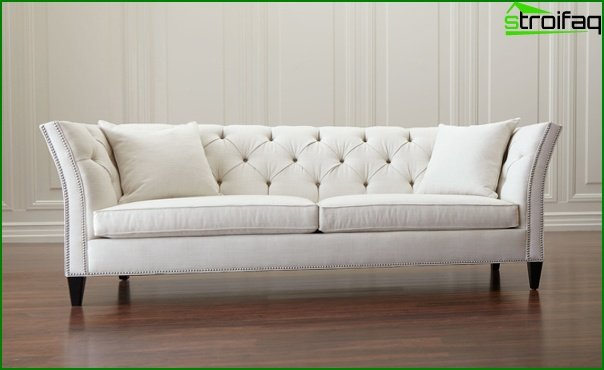 Upholstered furniture (classic sofa) - 3