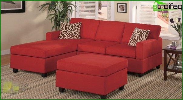 Upholstered furniture (corner sofa) - 1