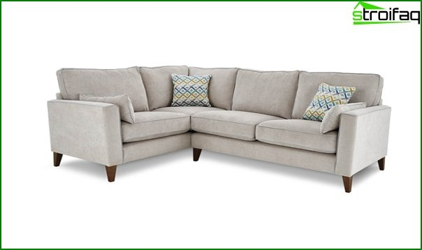 Upholstered furniture (corner sofa) - 2