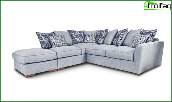 Upholstered furniture (corner sofa) - 3