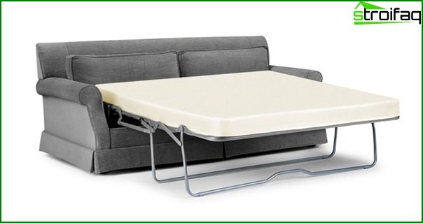 Upholstered furniture (sofa bed) - 1