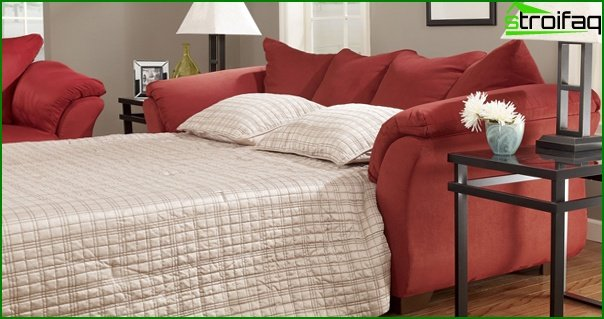 Upholstered furniture (sofa bed) - 2