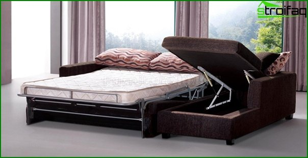 Upholstered furniture (sofa bed) - 3