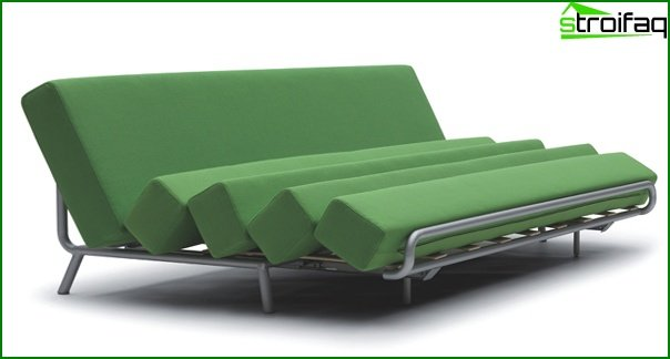 Upholstered furniture (sofa-transformer) - 3