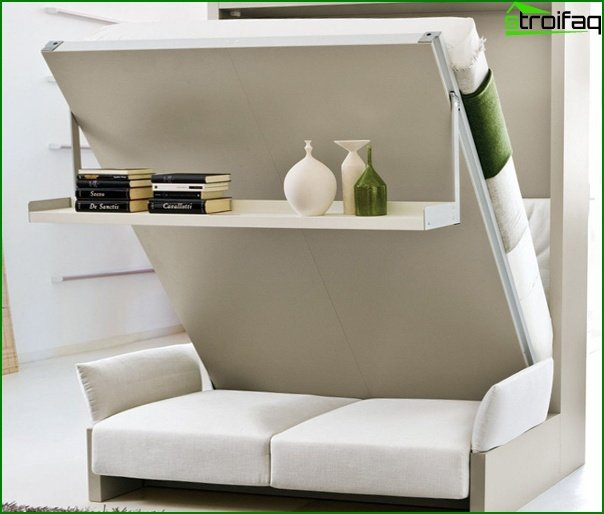 Upholstered furniture (sofa-transformer) - 5