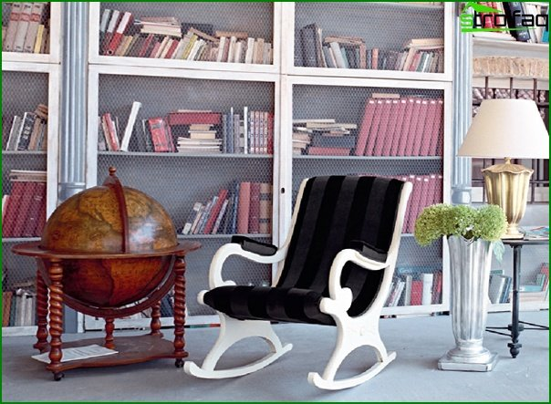 Upholstered furniture (rocking chair) - 2