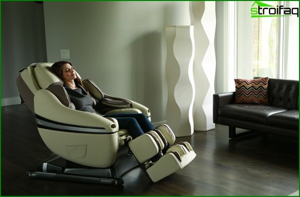 Upholstered furniture (massage chair) - 2