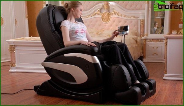 Upholstered furniture (massage chair) - 4