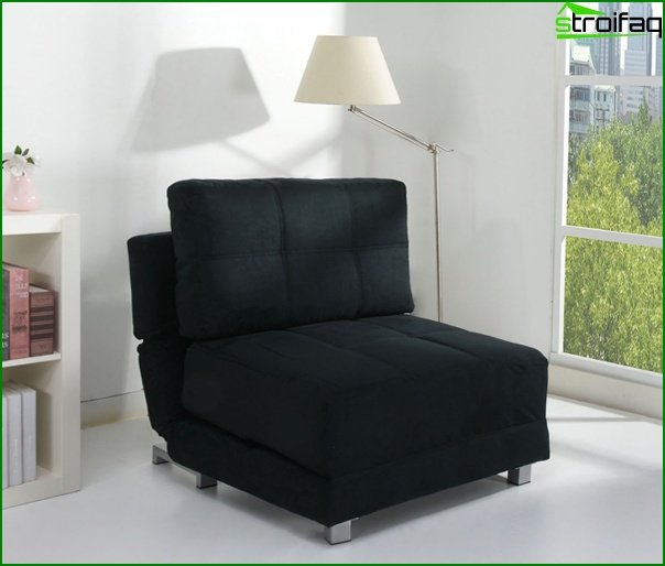 Upholstered furniture (arm-chair bed) - 1