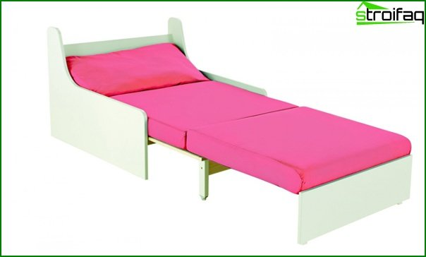 Soft set (armchair-bed) - 1