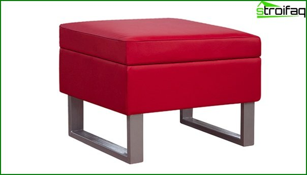 Upholstered furniture (ottoman) - 2