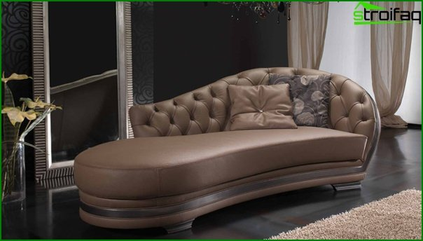 Upholstered furniture (ottoman) - 3