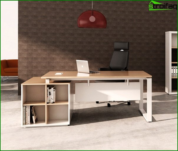 Office furniture (manager's desk) - 1