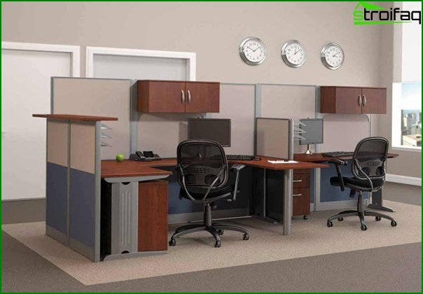 Office furniture (staff table) - 3