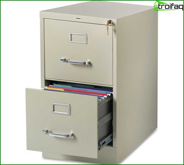 Office furniture (card indexes) - 2
