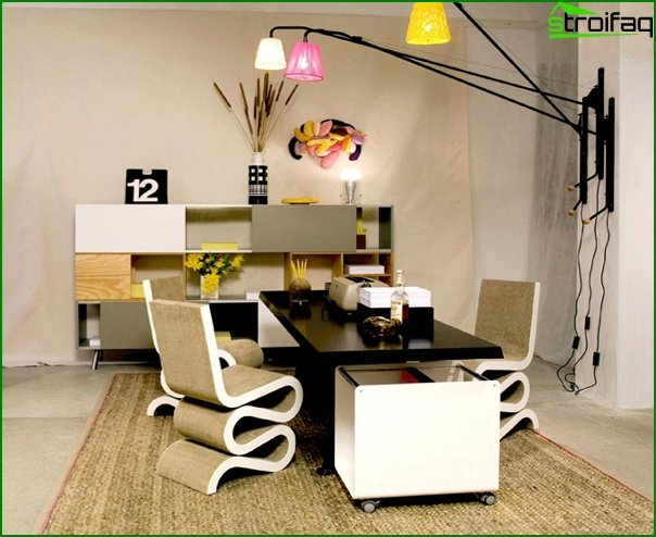 Office furniture (eclectic) - 1