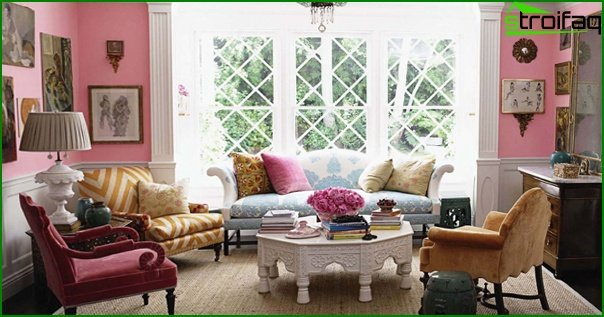 Living room furniture (eclectic style) - 2