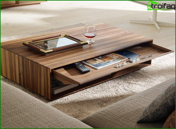 Suite for the living room (coffee table) - 1