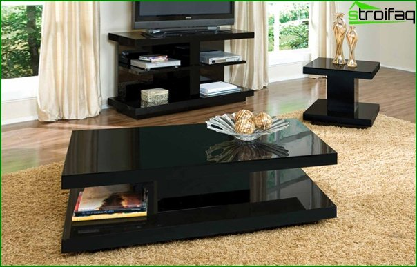 Suite for the living room (coffee table) - 2