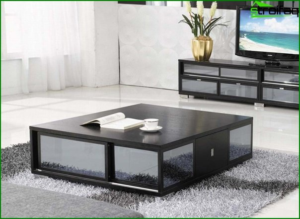 Set for the living room (coffee table) - 3