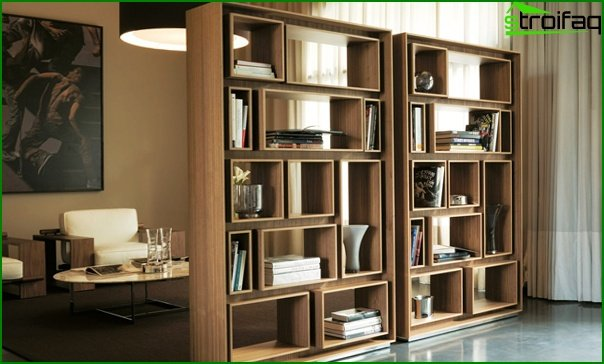 Suite for the living room (shelving) - 3