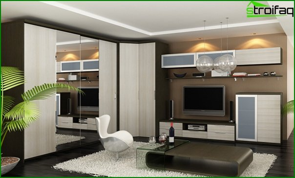Suite for the living room (wardrobes) - 3