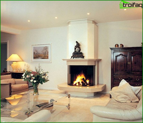 Living room furniture (fireplace) - 2